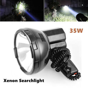 12v 35w Hand Held Xenon Hid Search Spot Light Fishing Boat Lighting Camping Kit