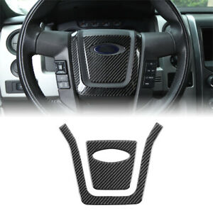 Steering Wheel Center Cover Trims Sticker Decal For Ford F150 2009 2014 New