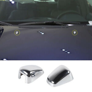 Front Windshield Washer Wiper Spray Nozzle Spout Trim For Dodge Charger 2010 14