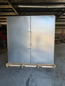 8x8x30 Gas Powder Coating Batch Oven Free Shipping