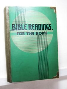 Bible Readings for the Home Circle Revised Enlarged 1935 Pacific Press $27.00