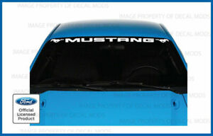 1994 2004 Ford Mustang Front Windshield Banner Decal Sticker Graphic V6 Gt Pmp