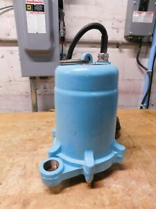 Little Giant 2hp Submersible Sump Pump 208v 13 9a Igp m201 15 h13