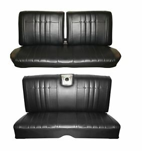 1965 Impala Coupe Front Rear Bench Seat Upholstery In Your Choice Of Color