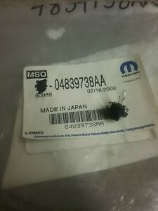 4839738aa Mopar Instrument Panel Light Lamp Bulb And Socket