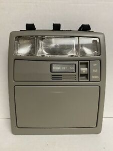 2007 2011 Toyota Camry Overhead Console Home Link Dome Light Sunroof Switch Grey