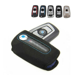 Chassis Models M Performance Suede Car Key Fob Case For Bmw 1 2 3 5 7 Series X3