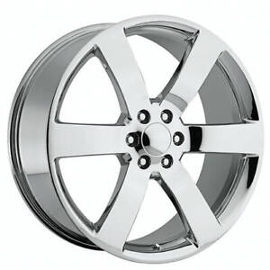 4 24 Chevy Trailblazer Ss Wheels Fr 32 Chrome Oem Replica Rims b1