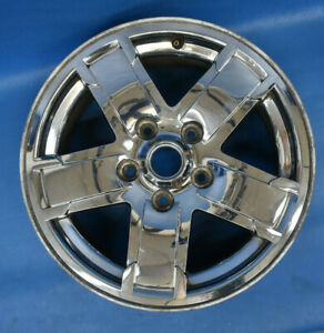Jeep Grand Cherokee 2005 2007 Used Oem Wheel 17x7 5 Factory 17 Rim Chrome