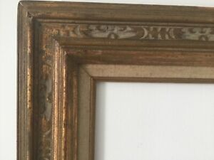 Hand Carved Art Crafts Wood Gilded Frame For Painting 24 X 20inch