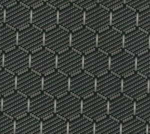 Black Hex Carbon Fiber Hydrographic Film Water Transfer Printing 0 5x20m Us Fast