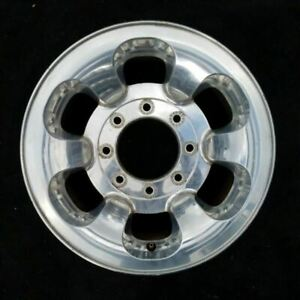 16 Inch Ford F250sd F350sd Pickup 1999 2000 Polished Oem Alloy Wheel Rim 3407