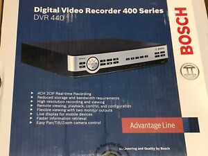 Bosch Dvr Video Recorder Dvr 440 04a050 400 Series