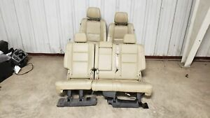 2018 Jeep Grand Cherokee Seats Front Rear Left Right Grey Leather Dvd Oem