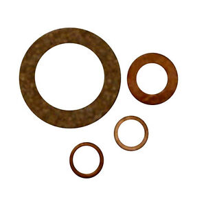 4 Fuel Injector Seal Kits For Ford New Holland 2000 2910 3000 7000 8000 9000