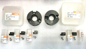 Lot 7 Pieces Schwanog Milling Cutter Head Polygon Schutte With Inserts New