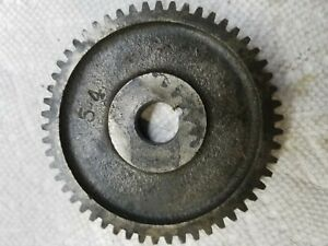 South Bend Lathe 9 Change Gear 54 Teeth