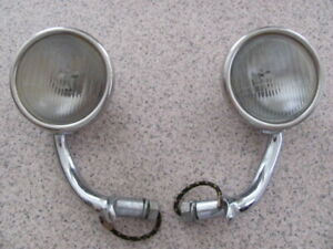 Ford Model A Cowl Lights 1 Pair Used