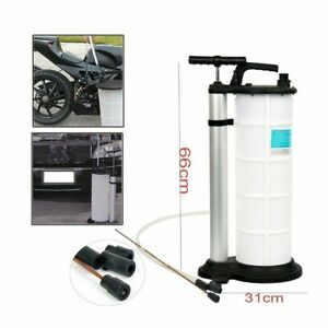 9l Fluid Extractor Pump Vacuum Oil Changer Hand Operated Oil Change Extractor