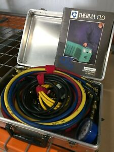 Thermaflo 4000 Ozsaver Lt Refrigerant Recovery Machine With Accessories And Case