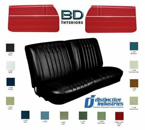 1968 Chevy Chevelle Front Seat Upholstery Panels By Distinctive Ind Any Color