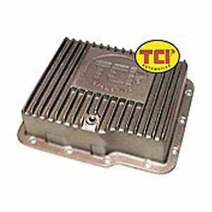 Tci Transmission 528300 Auto Trans Pan Alum Oil Pan Powerglide