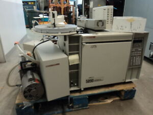 Hp Chemstation 5890 Series Ii Gc With Hp 5971 Msd Hp 7673 Autosampler Software