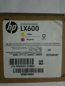 Cc582a Lx600 Printhead Yellow magenta For Designjet L65500 Lx600 And Lx800