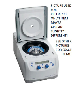 Eppendorf Centrifuge 5427r Refrigerated Microcentrifuge W 48x2ml Quicklock Rotor