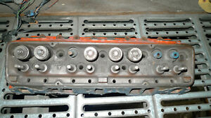 1957 Corvette Fuel Injection Cylinder Head With Casting 3731539 And Dated D27