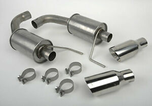 2015 2020 Mustang V6 3 7 And 2 3 Slp Loud Mouth Lm 2 Axle Back Exhaust System