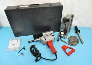 Wheeler Rex 3092 Hole Pipe Cutter System W Milwaukee Drill Tool Kit Plumbing