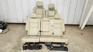 2018 Jeep Grand Cherokee Seats Front Rear Left Right Grey Leather Dual Power Oem