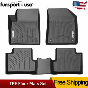 For 2015 2020 Jeep Cherokee Floor Mats Liner Heavy Duty Tpe Rubber Black 3d Set