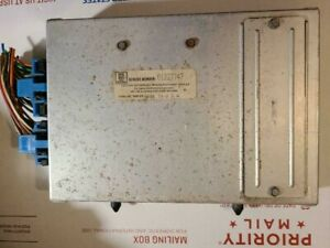 Gm General Motors Engine Control Unit Ecm Ecu 01227747 Anty Reman Delco Oem