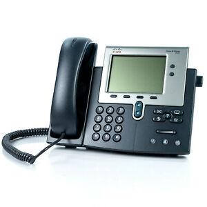 Cisco Cp 7942g Unified Ip Phone 7942 Voip Telephone 4 bit Grayscale Display