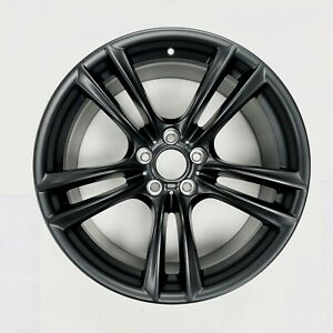 New 20 Rear Matte Black Wheel For Bmw 5 Series 7 Series Oem Quality 71380