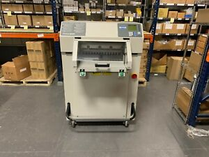 Challenge Titan 200 Programmable Hydraulic Paper Cutter 2003 Fully serviced