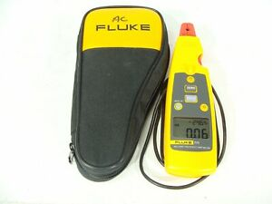 Fluke 771 Milliamp Process Clamp Meter Dmm Ac Ma Tester With Soft Case