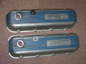 Bb Chevy Cal Custom 40 2100 Valve Covers 396 402 427 454