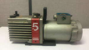 Edwards 5 E2m5 Two stage High Vacuum Pump With Ac Motor Bs 5000 11 Bs2212