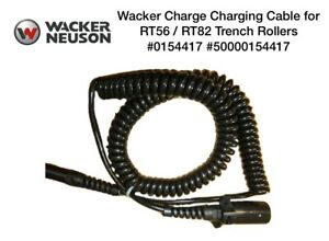 Wacker Oem Charging Cable For Rt56 Rt82 Trench Rollers 0154417 5000154417