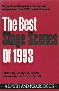 The Best Stage Scenes of 1993 $4.89
