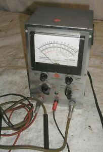 Rca Electronic Voltmeter Voltohmyst W Leads