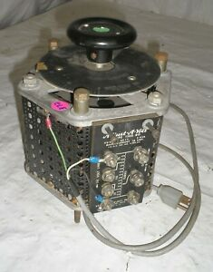 Standard Electrical 1500 Variable Auto Transformer Adjust a volt