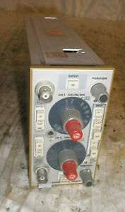 Tektronix Dual Trace Amplifier 5a18n