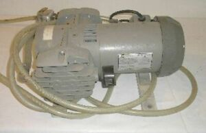 Thomas Mdl 2737cm39 Vacuum Air Pump Emerson Mdl Sa55zzhrm 4636 Electric Motor