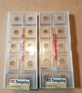 Tungaloy Snmg643 Tht9125 New Carbide Insert