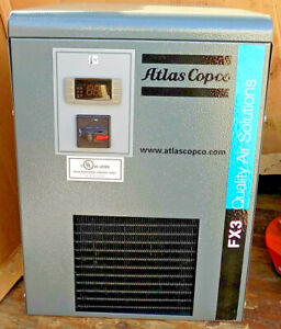 New Atlas Copco Fx3 a2 Refrigerated Compressed Air Dryer 30cfm 10hp 115vac