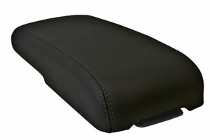 Center Console Lid Armrest Cover Leather For Chevrolet Colorado 1995 2005 Black